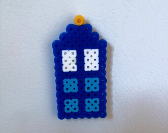 TARDIS Bead Magnet