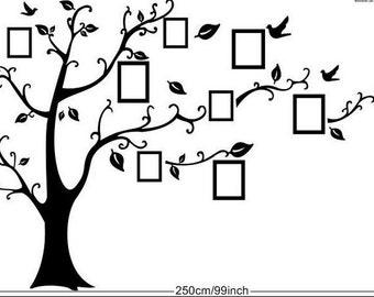 Family tree frame (decorative vinyl)