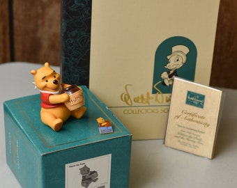 "Winnie the Pooh and the Honey Tree ""Time for Something Sweet"" 1996 Membership Sculpture"