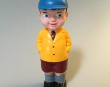 VINTAGE NOVELTY GIFT,Vintage boy peeing,pee pee boy,boy in school clothes peeing,Weepy the Wee Wee,wee wee boy,gag gift,gift for him