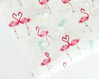 Waterproof Fabric Flamingo By The Yard