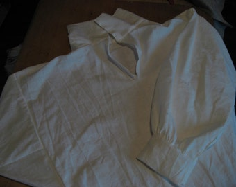 Colonial and Regency Man's shirt