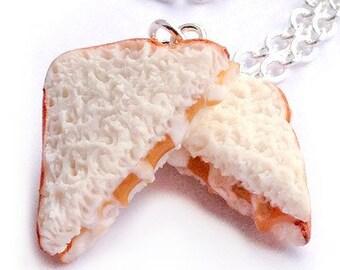 Fluffernutter Sandwich Necklace
