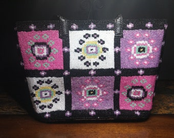 FAUX FENDI Beaded Purse\Handbag