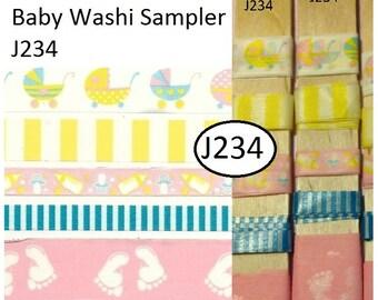 Baby,Washi Tape Sampler, scrapbook, stamping, journaling, tape, masking tape, crafts, gifts