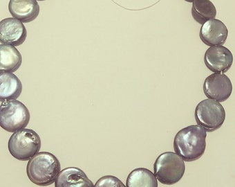 20 % off entire order! Beautiful coin fresh water pearl