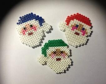 Magnets - Three Santas
