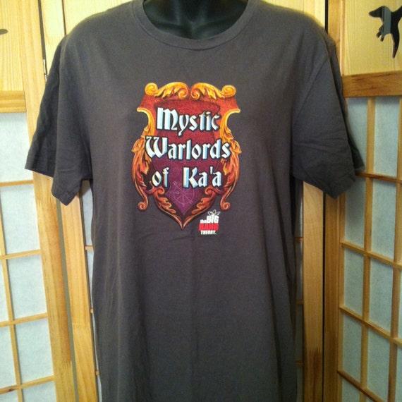 mystic warlords of ka 39 a t shirt the big bang theory. Black Bedroom Furniture Sets. Home Design Ideas