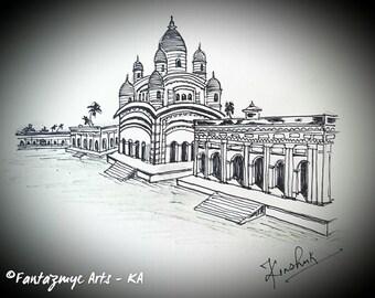 Dakshineshwar Temple, Kolkata, India