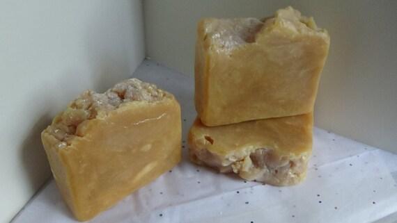 Pumpkin Frosting~Coconut Milk Handmade Soap~Bar Soap~Hot Process Soap~Artisan Soap