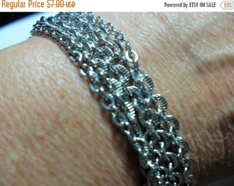 SALE Vintage Avon silver tone bracelet, Avon bracelet, silver tone bracelet, vintage Avon jewelry, Gingerslittlegems