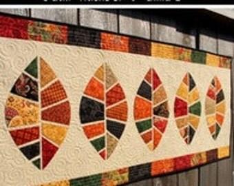 Fußboden Modern Quilt ~ Leaf quilt pattern etsy