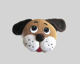 Crochet PATTERN, Pillow Pattern, Dog Pillow, crochet puppy, for ,nursery decor, and baby bedding