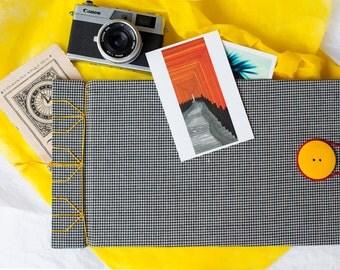 Scrapbook Album, Photo Book, Photo Album, Wedding Album, Baby Photo Album, Fabric Book Cover, Memory Book, Guest Book, Artist Sketchbook