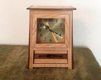 Craftsman style Mantel Clock