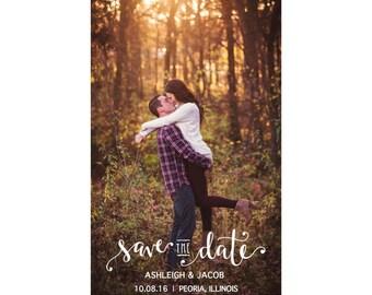 Save the Dates - Photo Customizable