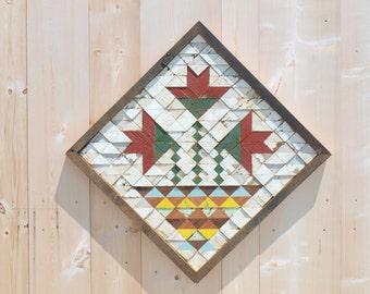 wooden quilt block, reclaimed barn quilt block, quilt wall hanging