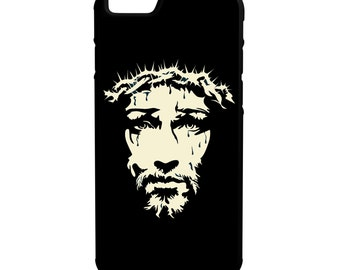 Jesus Thorns iPhone Galaxy Note LG HTC Hybrid Rubber Protective Case