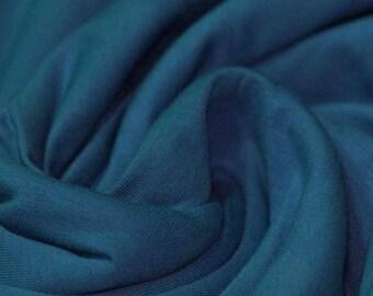 Plain Jersey - Petrol Blue