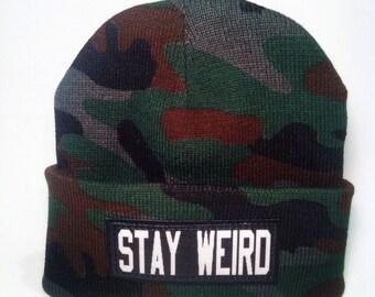 Stay Weird Beanie