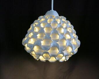 Danish ceramic hanging lamp