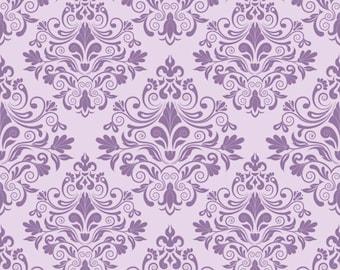 Newborn Photography Backdrop, Purple Damask Photo Drops for Studios Photography, Custom size backdrops XT-3084