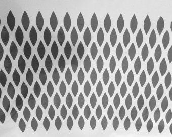 Stencil pattern 3.7. A4