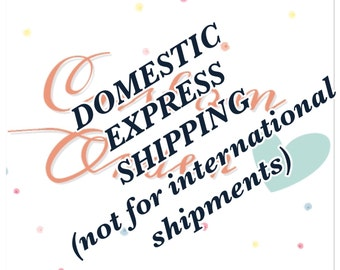 Express Shipping Fee (USA only)