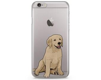 Golden Retriever iPhone 6s case, Custom illustrated dog iPhone Case, Hand Drawn dog iPhone Case, iPhone 7 case, iPhone 7 plus case