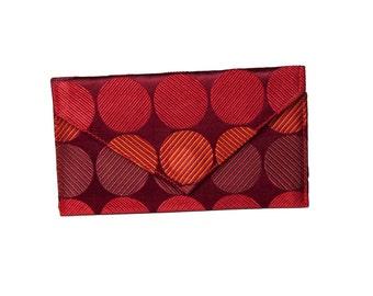 Business Card Holder/Mini Wallet - Red Dot
