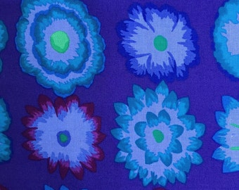 Button Flowers by Kaffe Fassett for Westminster Fabrics in Purple Half Yard