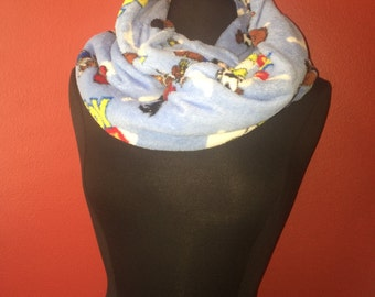 Repurposed/Upcycled Toy Story Infinity Scarf