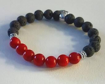 Base (Root) Chakra Balancing Bracelet