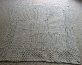 Crochet square blanket