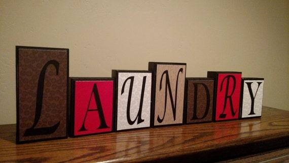 home decor word blocks home custom letters mantel living room items similar to wood block letters sign homedecor wood