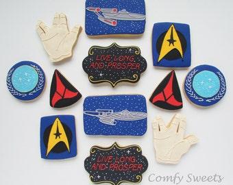 Star Trek Cookies