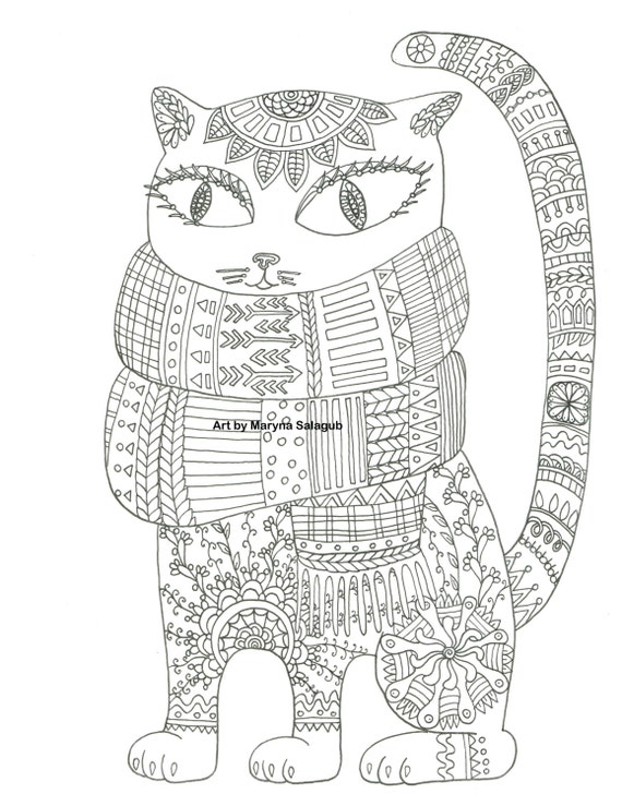 95 Winter Coloring Pages Adults Printable