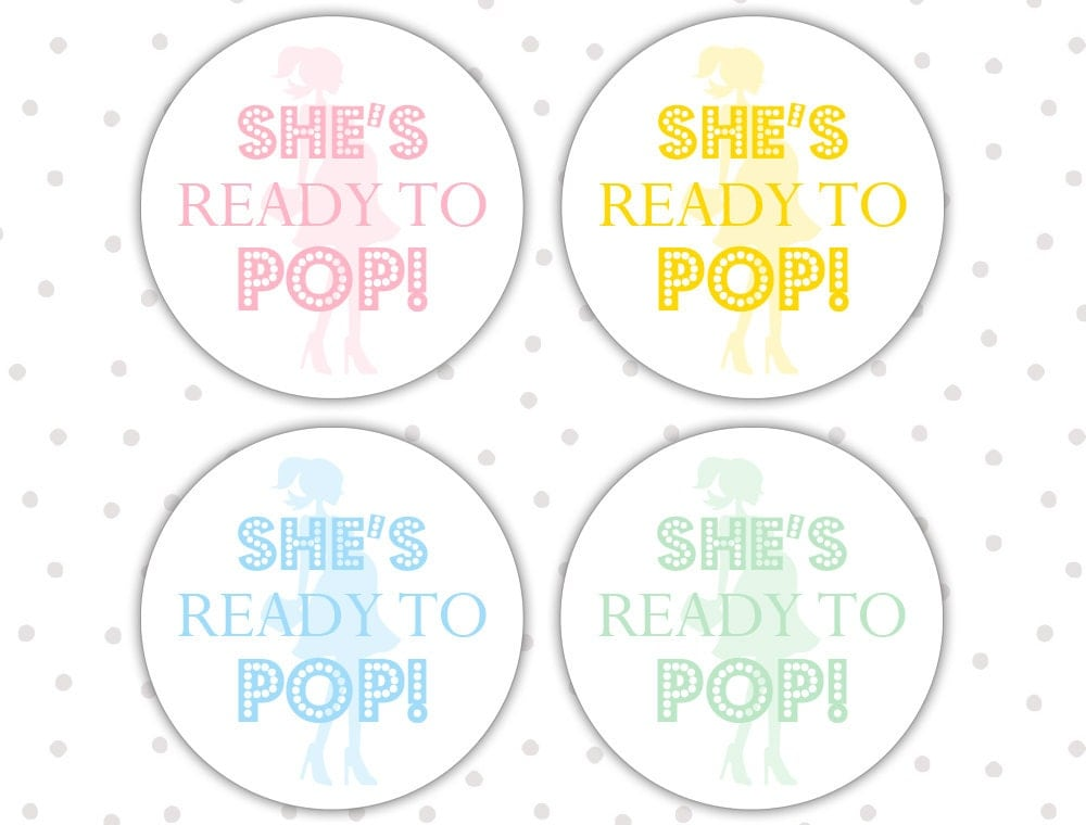 Ready to pop stickers ready to pop labels ready to pop for Ready to pop labels template free