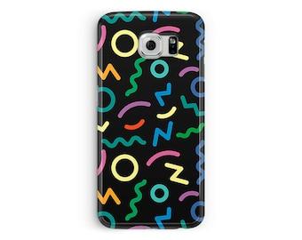 Case for Samsung Galaxy S7, 90s S7 Cover, 90s Phone Case, 90s Samsung Case, Retro case, 90s style, Protective Case, 90s graphic design