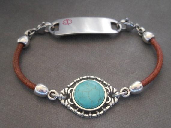 id bracelet allergy bracelet by