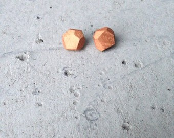 Wood ear plug copper