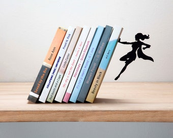 Wonder Woman  Bookend  - Designed Bookend- Bookends- Book accessories