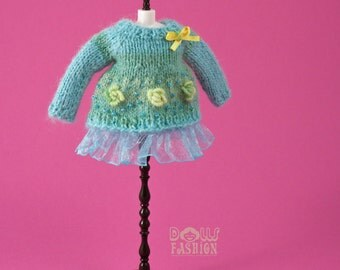 Mini Dress for Blythe Dolls
