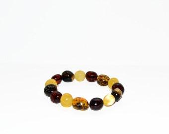 Exclusive Natural Baltic Amber Bracelet