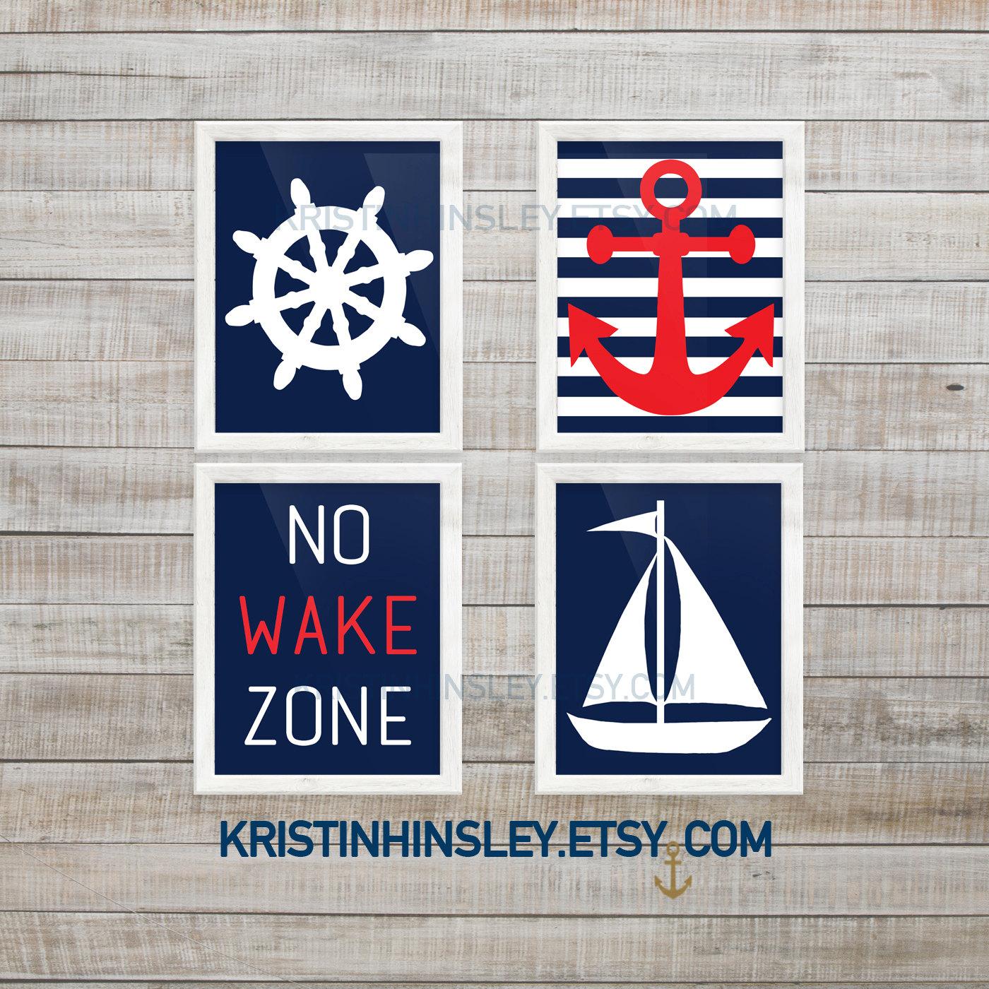 Nautical Nursery Decor Nursery Wall Decor Nursery Printable