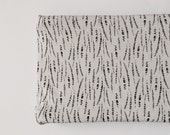 Changing Pad Cover - Chesire Feathers in Grey