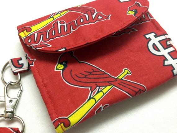 The Batter Up: Wallet (St. Louis Cardinals Print)