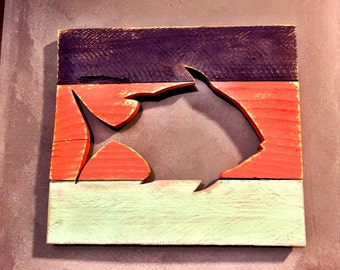 Wood Fish Cutout
