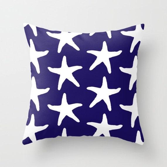 Starfish Pillow Cover Starfish Throw Pillow Cover Nautical