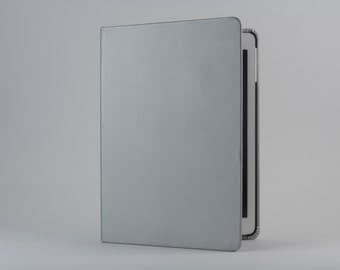 SALE: iPad Cover with Stand in Silver by Old City Cases